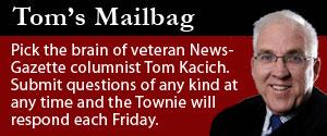 Tom's Mailbag